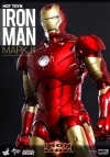 Hot Toys - 1/6 Scale Iron Man - Mark III Diecast Collectible Figure