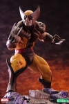 Kotobukiya - Marvel Comics - Wolverine Brown Costume - Danger Room Sessions - Fine Art Statue