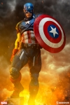 Sideshow - Marvel Collectibles - Captain America Premium Format Statue